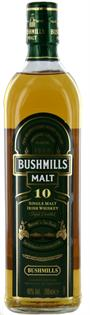 Bushmills Irish Whiskey 10 Year 750ml